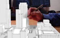 Проектирование застройки района