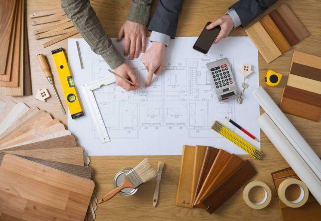 Работа над проектом дома