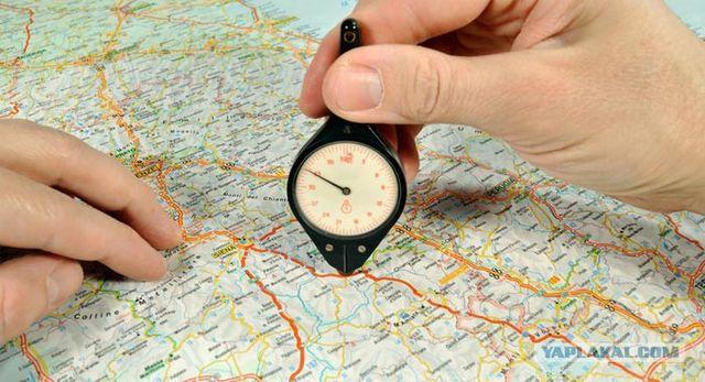 Измерения по топографической карте