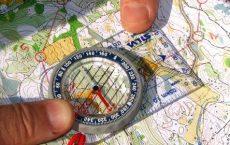 Ориентация по топографической карте