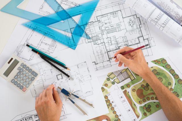 Составление плана участка