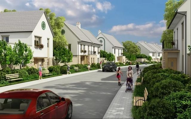 Улица с домами