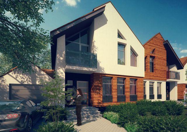 Пример проекта блокированного дома