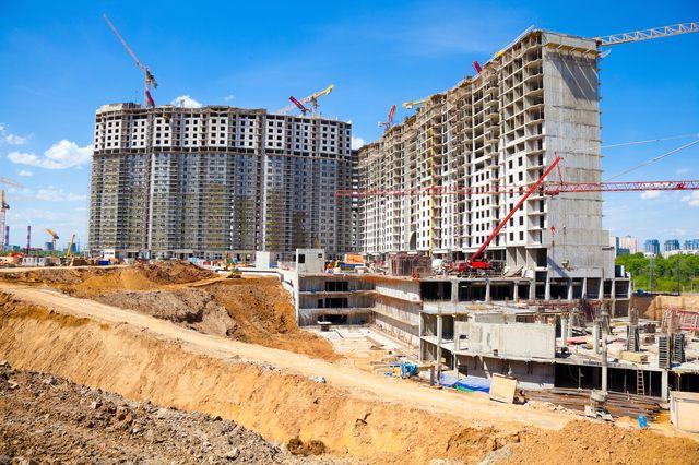 Строительство многоквартирного дома