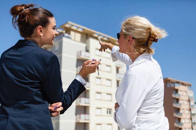 Показ квартиры покупателю